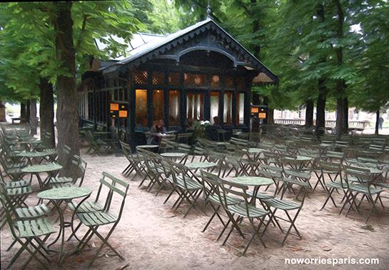 Painting paris the luxembourg gardens no worries paris for Cafe du jardin london