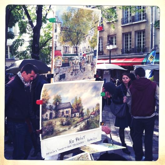 paintersMontmarte