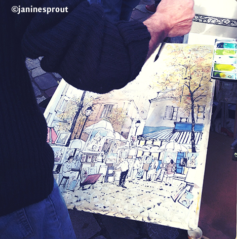 painter Montmartre