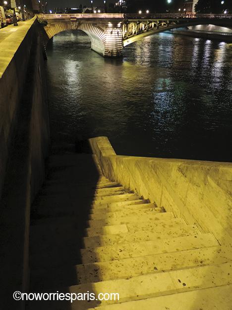 SeineParisNight