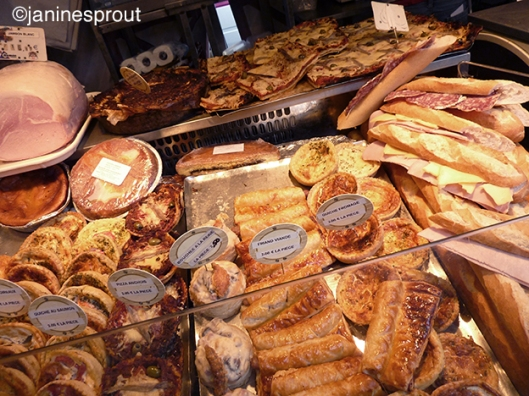 paris marche food
