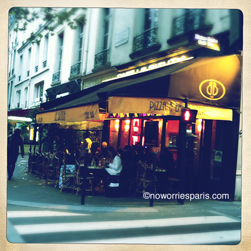 paris pizza noworries