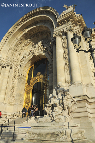 Petit Palais doorway