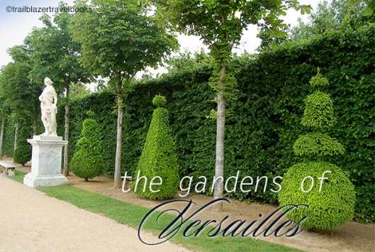 A quick tour of the gardens of Versailles