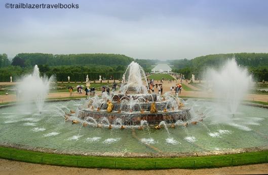 Versailles fountain show