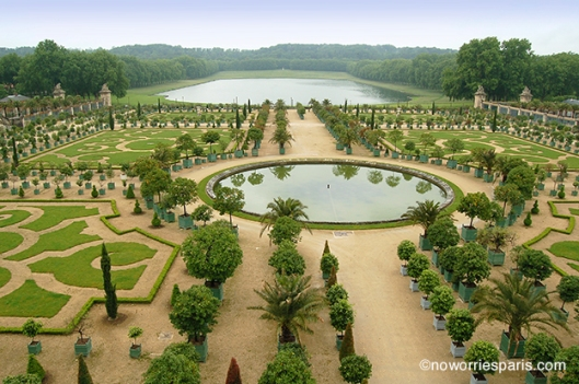 Versailles formal gardens