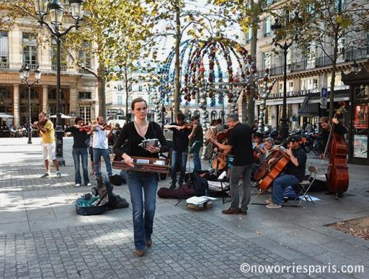 Palais Royal Sunday Paris