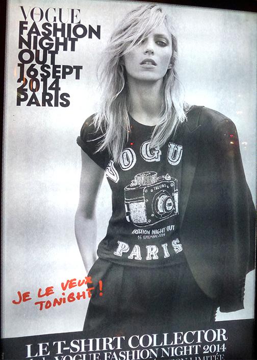 Vogue fashion NightOut Poster