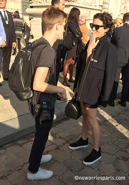 Garance Doré Paris Fashion Week