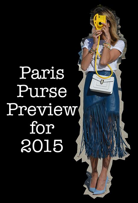 Paris Purses for 2015