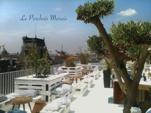 Perchoir Marais restaurant